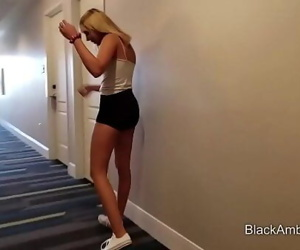 18 Teen First Big Black Cock..