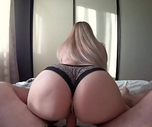 Young girl with big ass..
