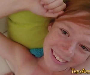 Teen ginger porno newbie 8 min