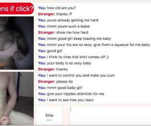 Busty Teen Obeys Her Omegle..
