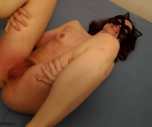 long pussy spanking with..
